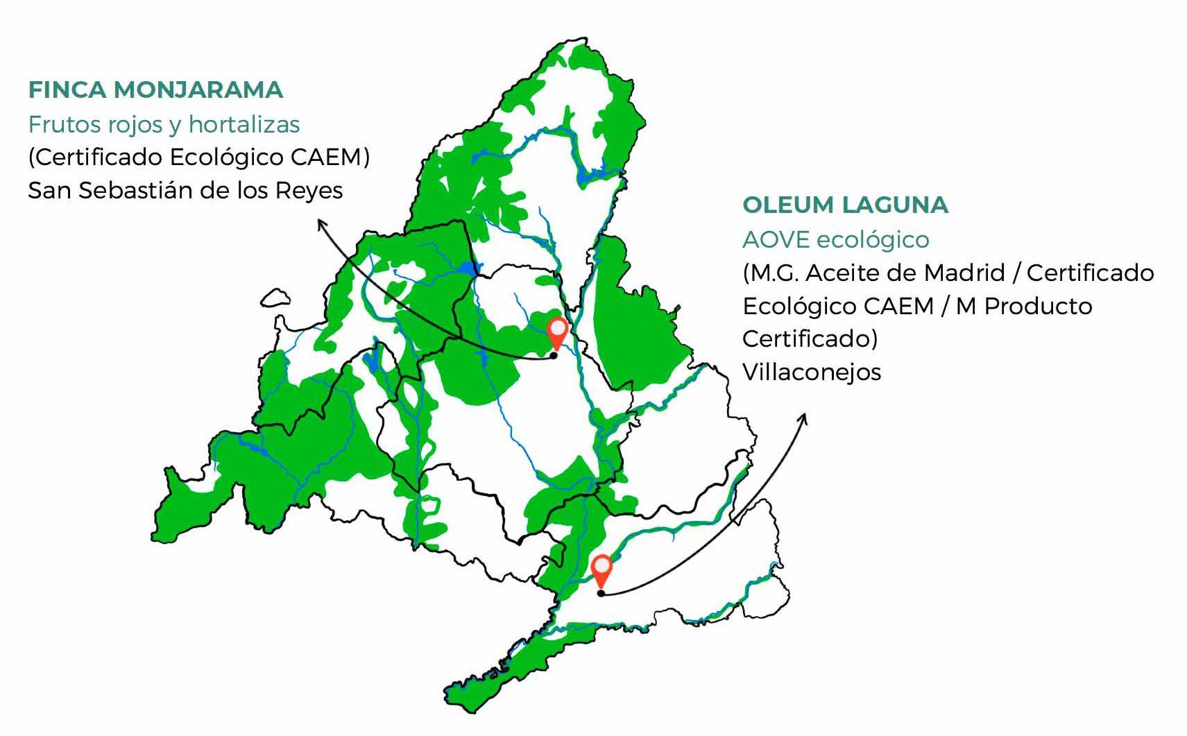 Mapa Rutas Agroturísticas